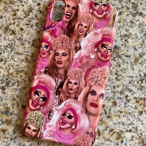 Trixie and Katya iPhone XS Max snap case